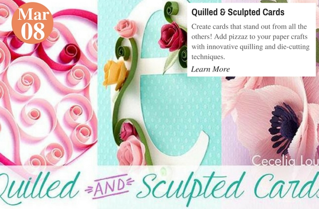Quilled & Sculpted Cards
