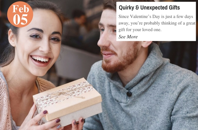 Quirky & Unexpected Gifts