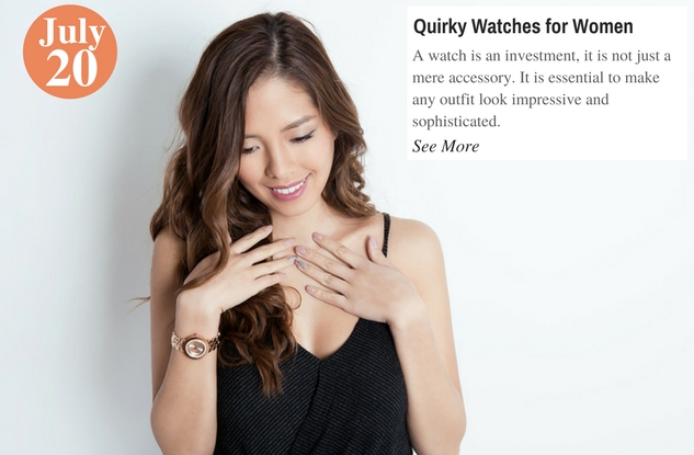 Quirky Watches for Women