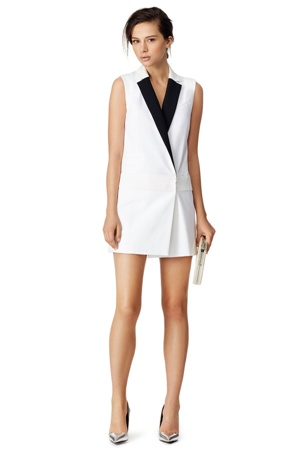 Rachel Zoe Lapel Shift