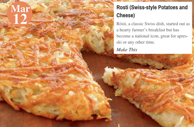 Rosti (Swiss-style Potatoes and Cheese)