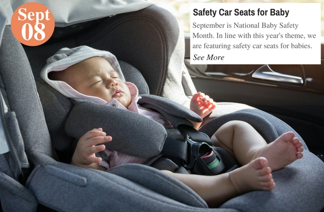 Safety Car Seats for Baby