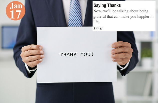 Saying Thanks