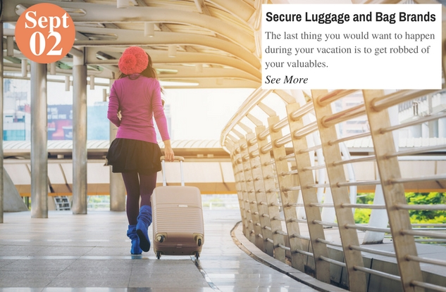 Secure Luggage and Bag Brands