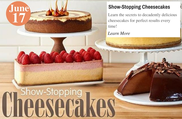 Show-Stopping Cheesecakes