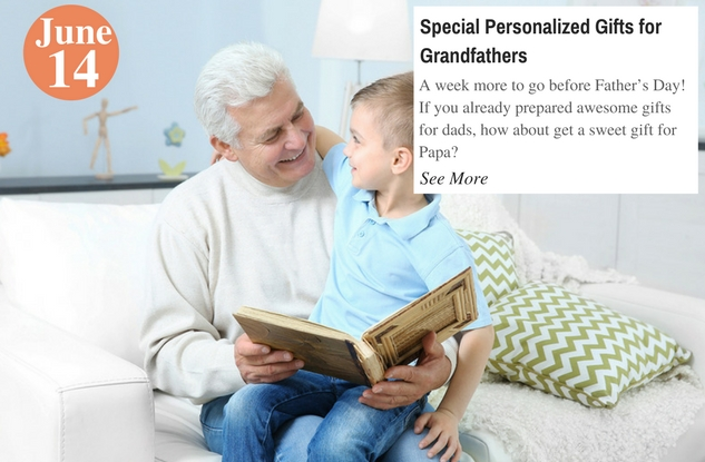 Special Personalized Gifts for Grandfathers
