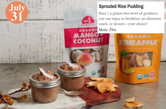 Sprouted Rice Pudding