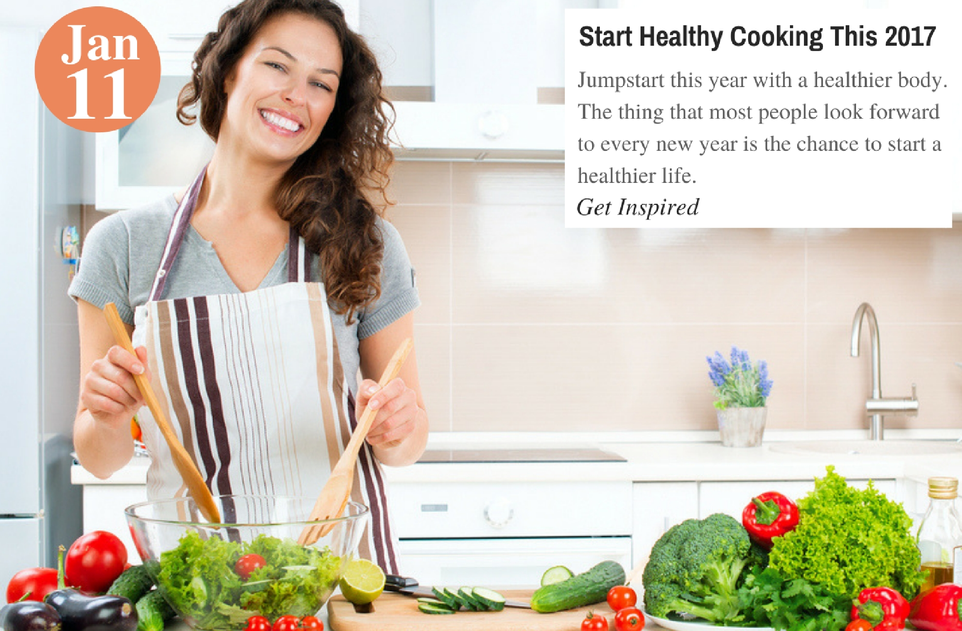 Start Healthy Cooking This 2017