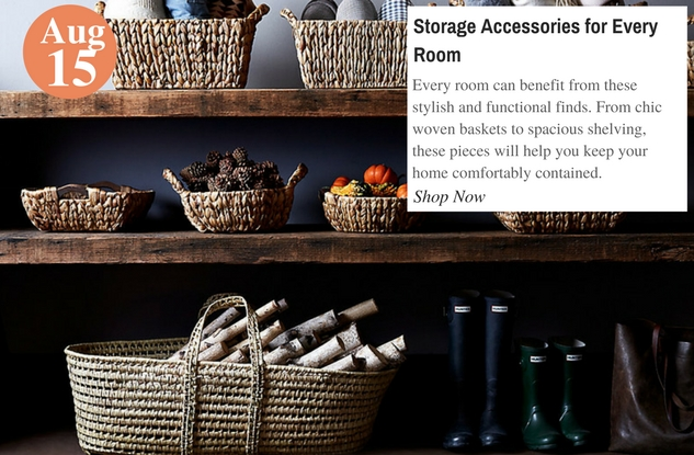 Storage Accessories for Every Room