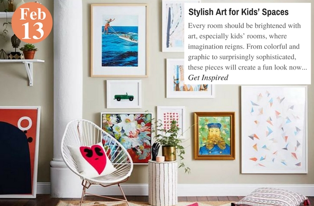 Stylish Art for Kids' Spaces