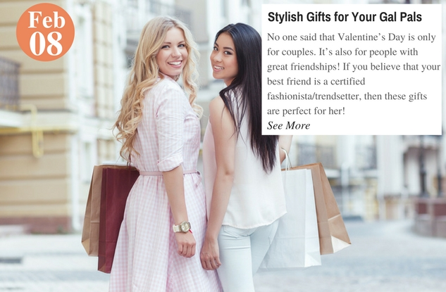 Stylish Gifts for Your Gal Pals