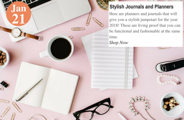 Stylish Journals and Planners