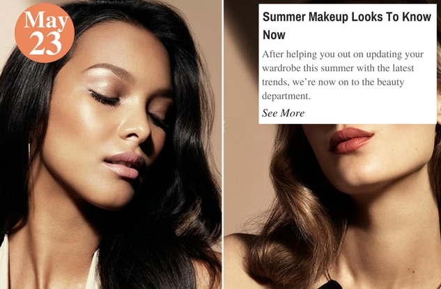 Summer Makeup Looks To Know Now
