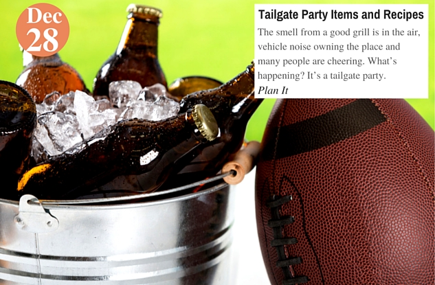 Tailgate Party Items and Recipes