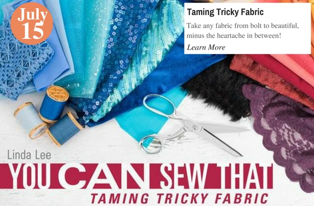 Taming Tricky Fabric