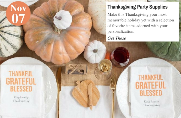 Thanksgiving Party Supplies