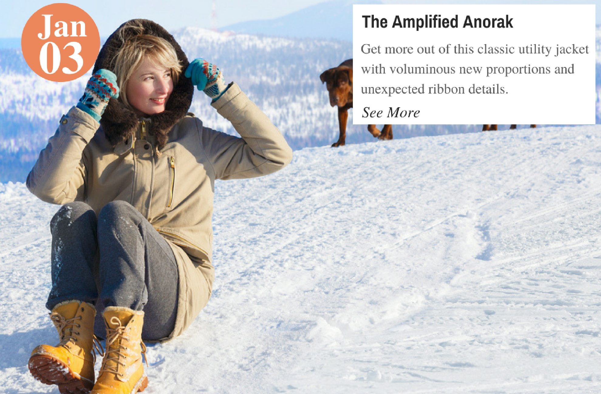 The Amplified Anorak