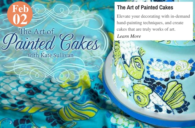 The Art of Painted Cakes