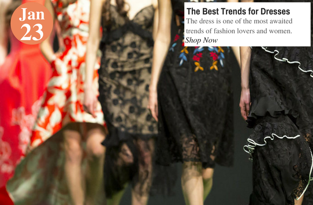 The Best Trends for Dresses