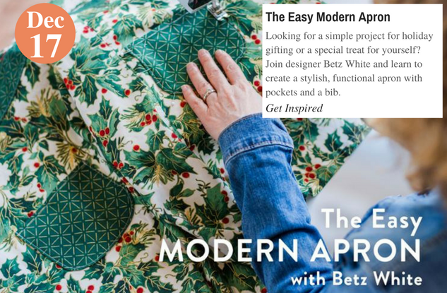 The Easy Modern Apron