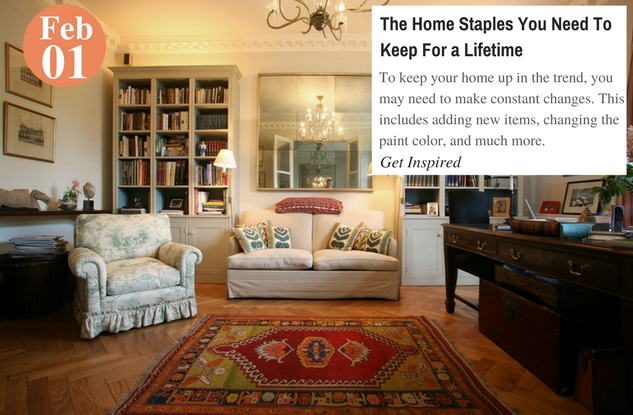 The Home Staples You Need To Keep For a Lifetime