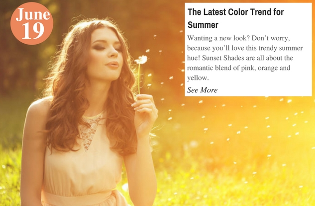 The Latest Color Trend for Summer