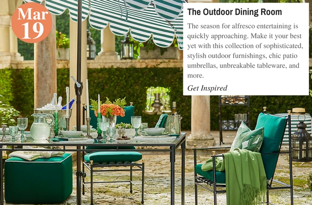 The Outdoor Dining Room