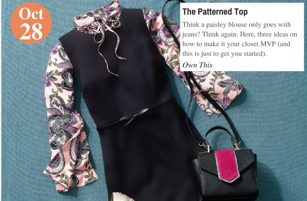 The Patterned Top