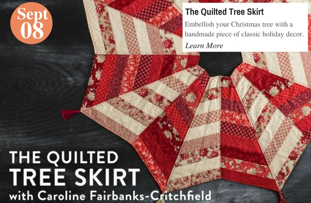 The Quilted Tree Skirt