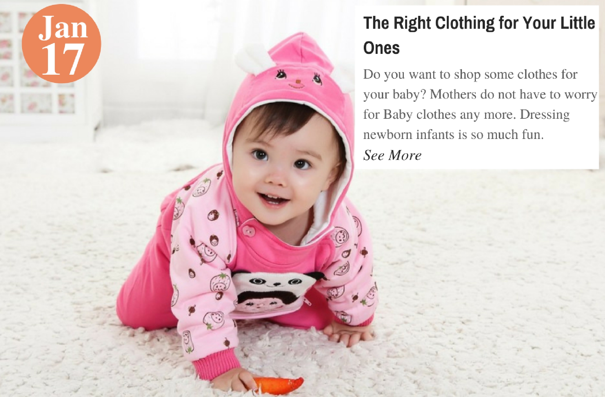 The Right Clothing for Your Little Ones