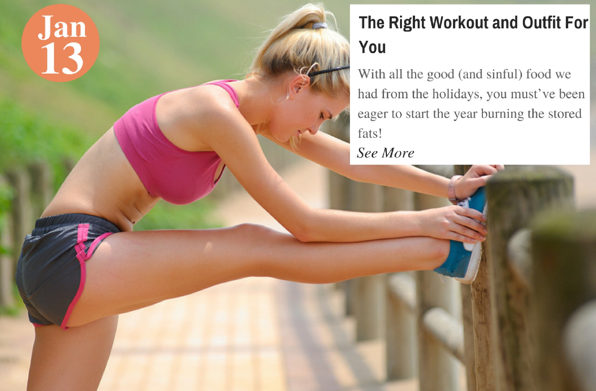 The Right Workout and Outfit For You