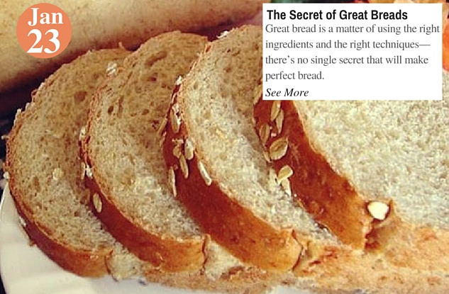 The Secret of Great Breads