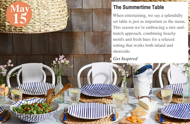 The Summertime Table