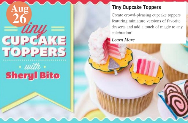 Tiny Cupcake Toppers