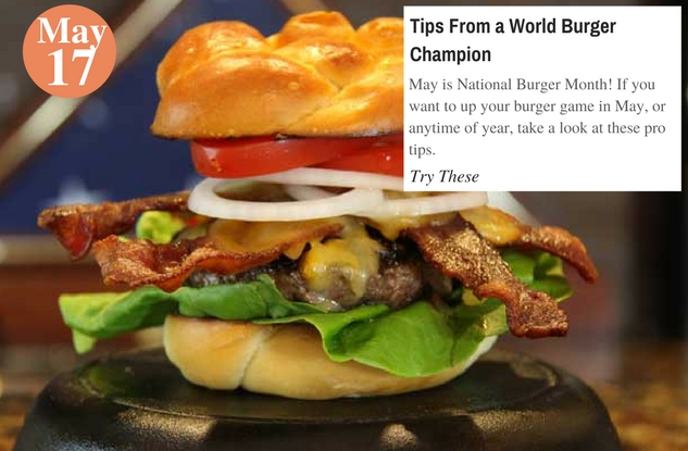 Tips From a World Burger Champion