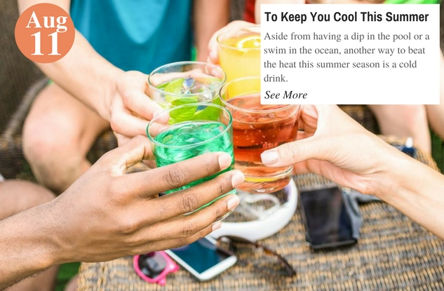 To Keep You Cool This Summer