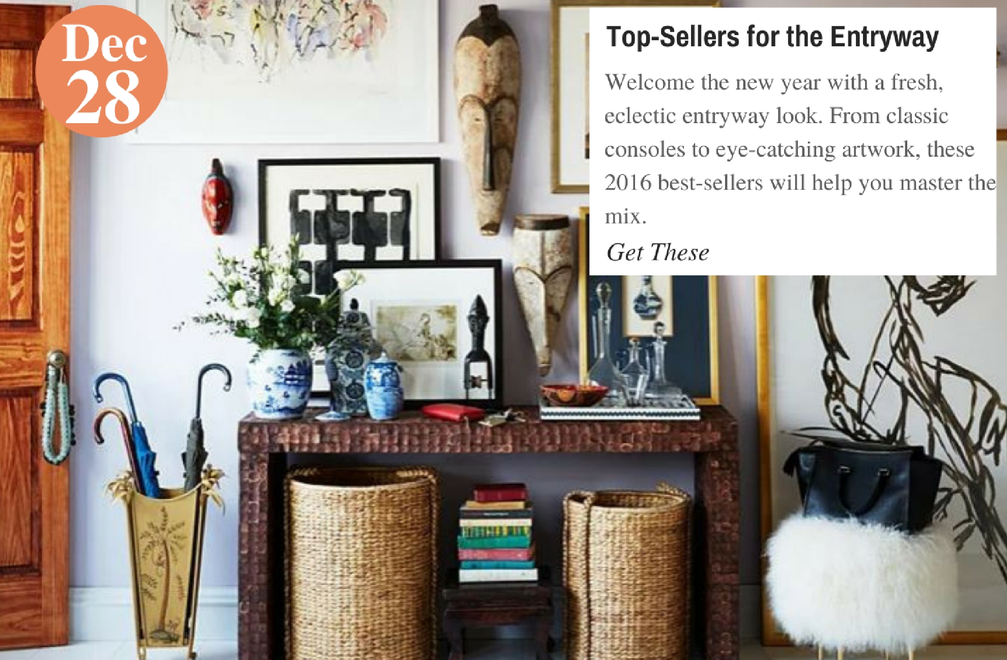 Top-Sellers for the Entryway