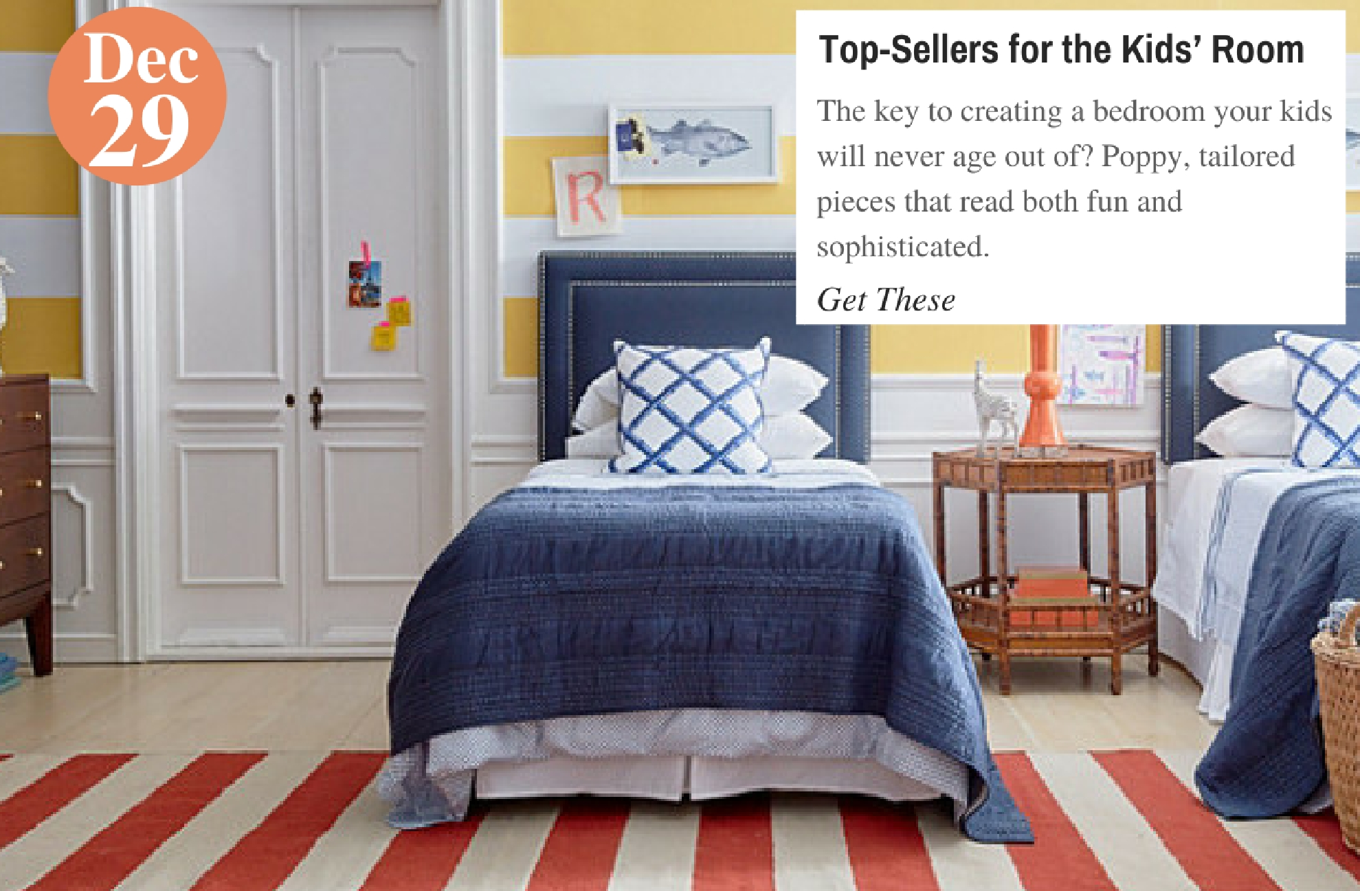Top-Sellers for the Kids' Room