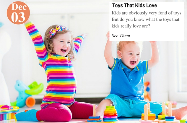 Toys That Kids Love