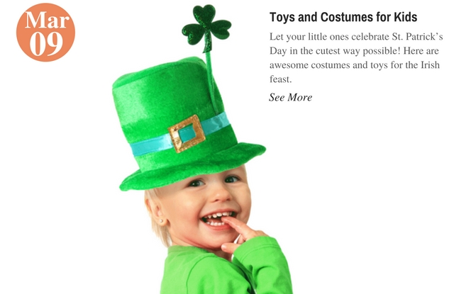 Toys and Costumes for Kids