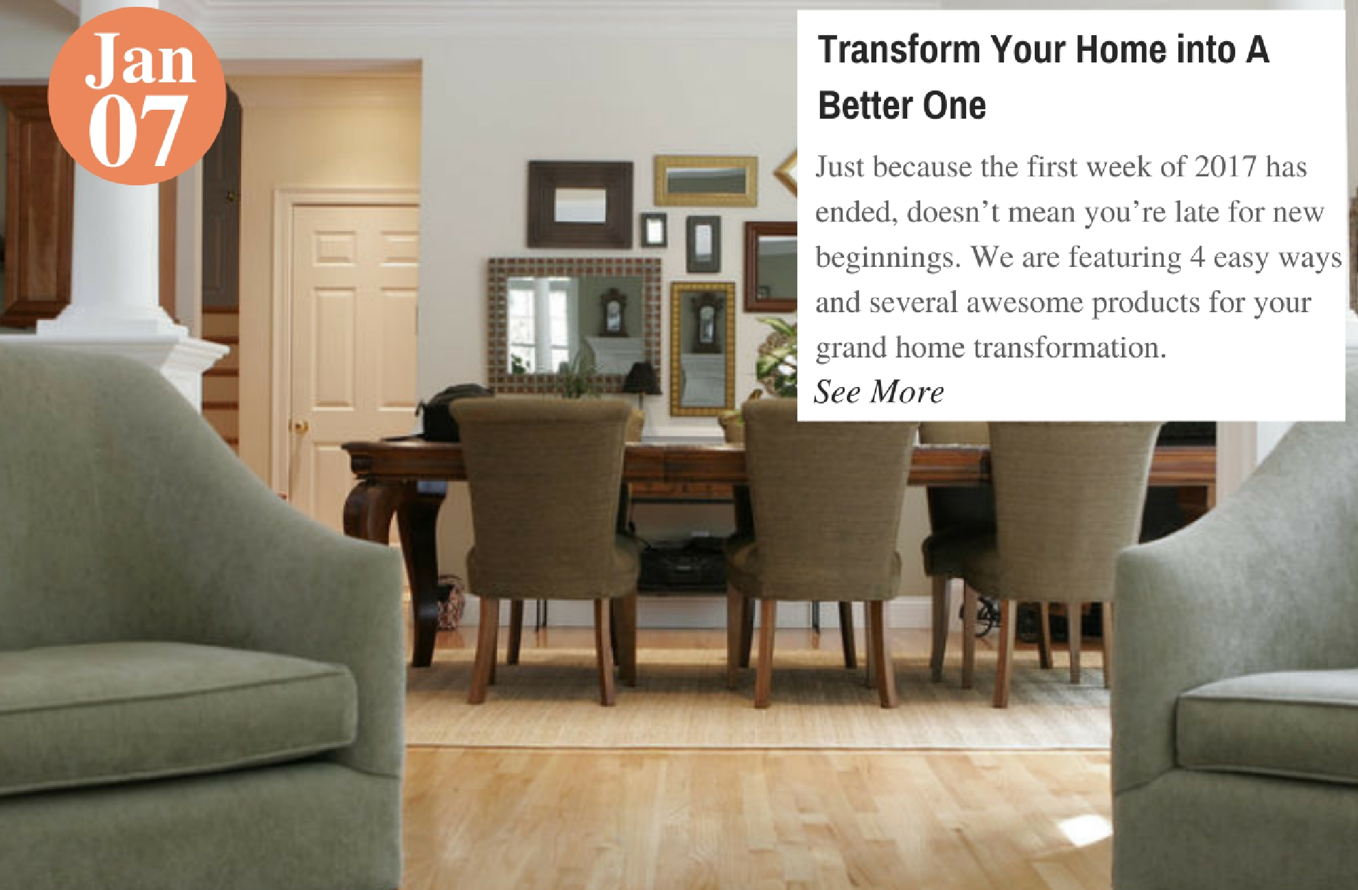 Transform Your Home into A Better One