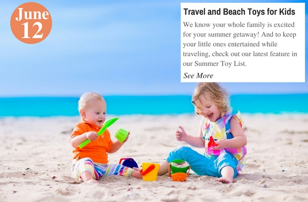 Travel and Beach Toys for Kids