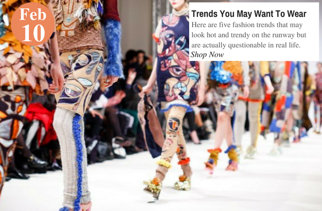 Trends You May Want To Wear