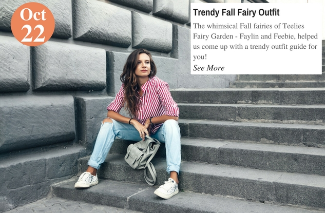 Trendy Fall Fairy Outfit