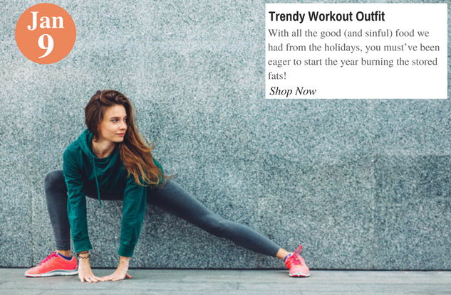 Trendy Workout Outfit