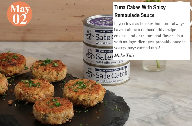 Tuna Cakes With Spicy Remoulade Sauce