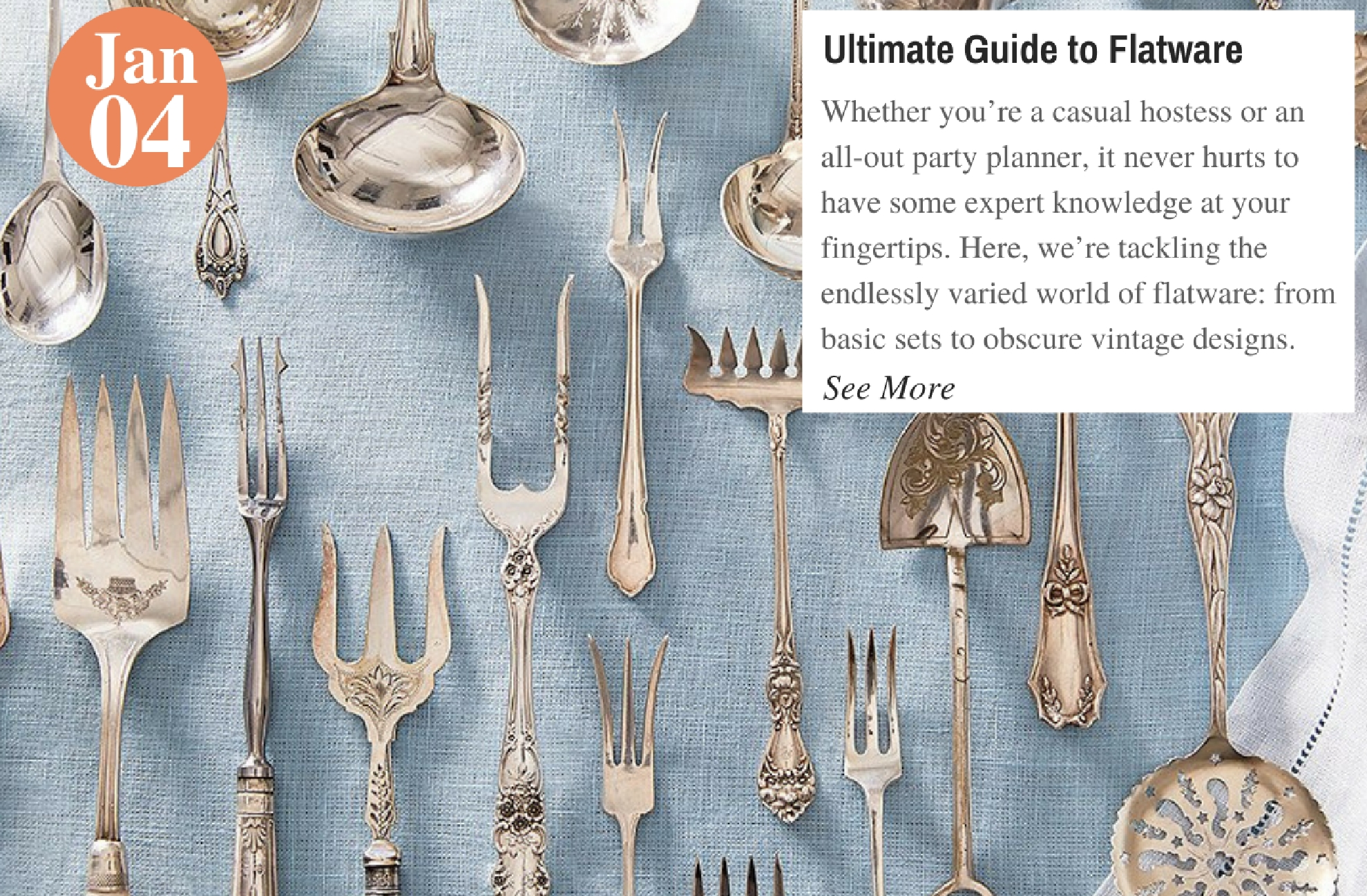 Ultimate Guide to Flatware
