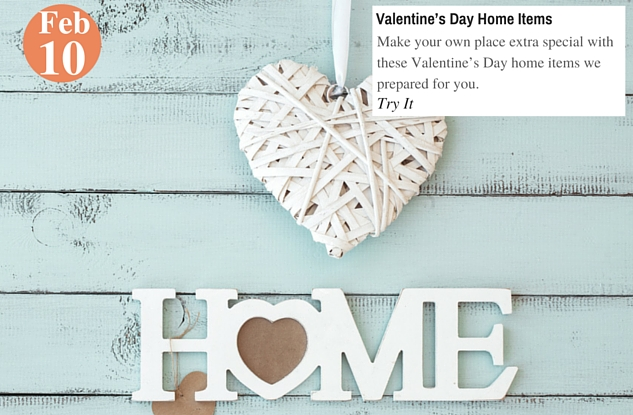 Valentine's Day Home Items