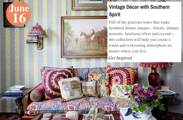 Vintage Décor with Southern Spirit