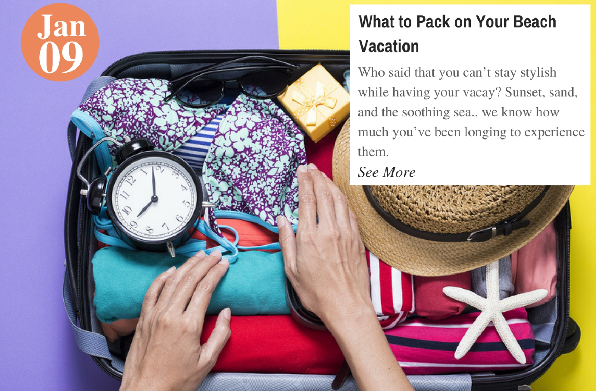 What to Pack on Your Beach Vacation